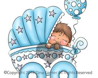 Jaydon Stroll Baby Boy Digi Stamp