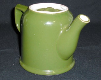 Teapot, Hall, One-Cup, Forest Green
