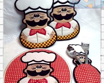 Pot Holders digital embroidery Trivets Cotton Trivets  Hot Pads Trivets kitchen tack with eggs  Embroidery Machine  Easter feast