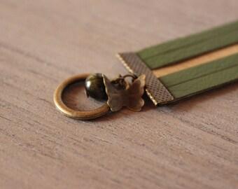 Bracelet • CLOE • couleur kaki / doré