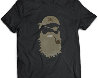 Pirate T-Shirt. Pirate tee present. Pirate tshirt gift idea. - Proudly Made in the USA!