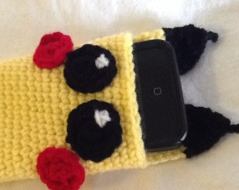 Pikachu Cell Phone Cozy