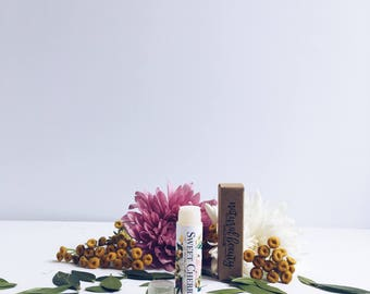 SWEET CHERRY Lip Balm   Natural Lip Balm   Natural Skincare