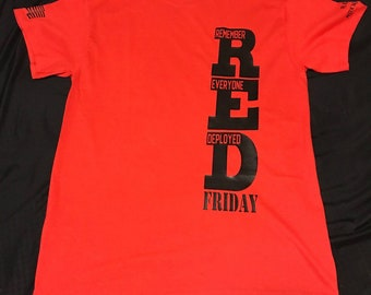 RED Friday shirt (Remember Everyone Deployed)