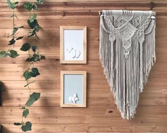 LEONOR. Macrame wall hanging, tapestry