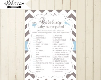 Celebrity Baby Pictures Baby Shower Game