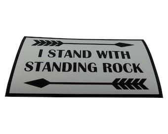 Standing Rock Magnet/Bumper Sticker
