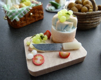 1 12 th scale cheese and tomato snack board