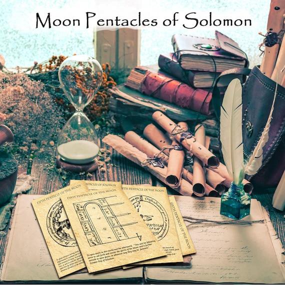 The Moon Pentacles of Solomon