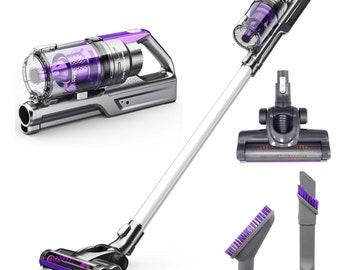 Turbo Cordless Vacuum Cleaner   REV Bigfoot Lithium Ion Battery Portable Vacuum   VViViD