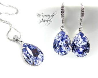 Lilac bridal jewelry Etsy