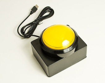 The Big Button - Yellow