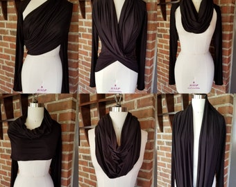 Scarf, Convertible, Scarf, Top, Infinity Scarf, Wrap, Cover Up, Shrug, Shawl
