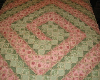 Rag Quilt Swirl Mailed Paper Pattern by Sew Practical, Mom and Pop Craft