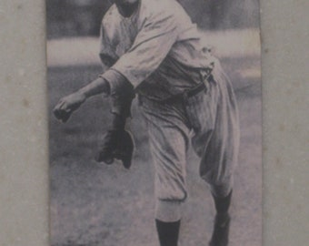 Babe Ruth red cross tobacco card