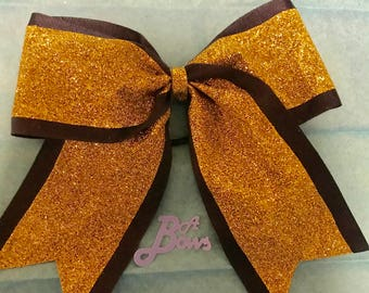 Two Toned Cheer Bow