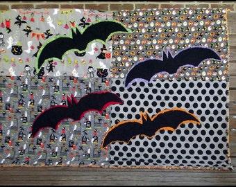 Halloween Bats Quilt