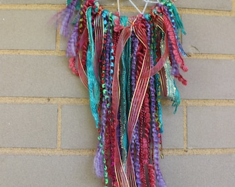 Handmade Dreamcatcher - Purple, Turquoise, Pink - Urban Outfitters, Free People