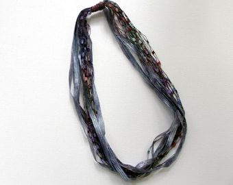 Ribbon Necklaces