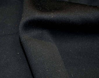 REMNANT Black Fabric 59 inches x 2 yards