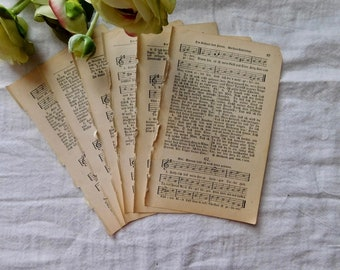 Be Faithfully Hymn Pages - German Language - Set Of 6