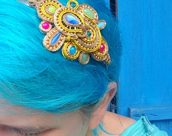 Antonia - soutache hairband