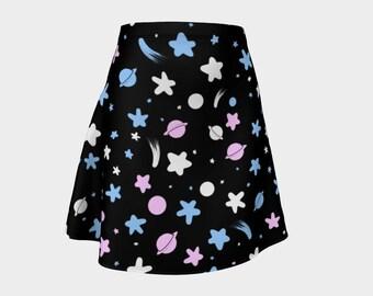 Trans stars skirt