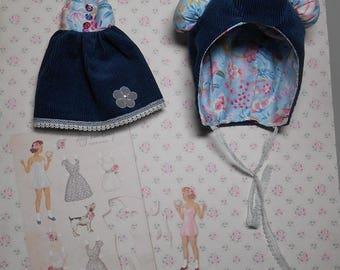 vestido para blythe/pure neemo y Bonete