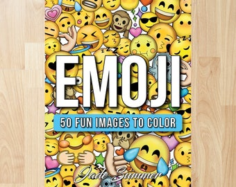 Emoji by Jade Summer (Coloring Books, Coloring Pages, Adult Coloring Books, Adult Coloring Pages, Coloring Books for Adults)