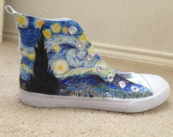 Van Goghs Starry Night Shoes.