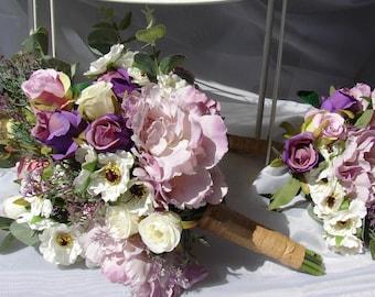 Purple ivory wedding   Etsy