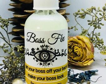 Rita's Boss Fix Spiritual Mist Spray - Pagan, Magic, Hoodoo, Witchcraft, Juju