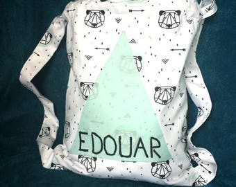 For the nursery or personalized school bag/pouch