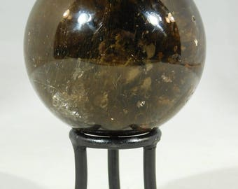 One (1) SMALL Round Metal Display Stand for SPHERE or GLOBE