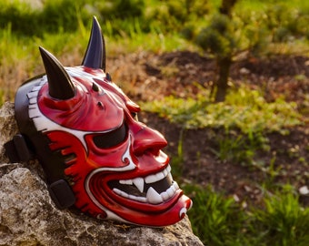 Japanese Hannya mask