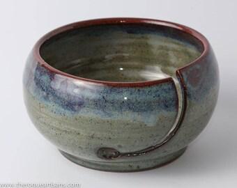 Handmade Yarn Bowl, Knitting Bowl, Unique Gift
