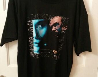 men's Skinny Puppy tshirt Large punk industrial 90s goth neo neu