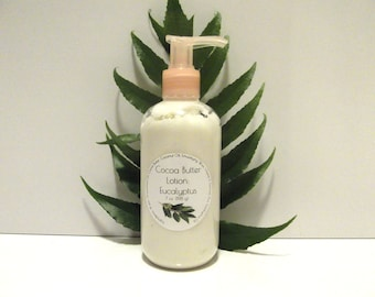 Eucalyptus Scented Cocoa Butter Lotion