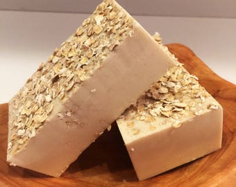 Oatmeal Cream w/ Honey Soap