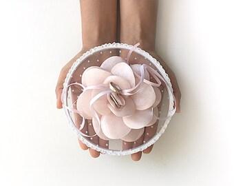 Special Ring Holder, Ring Pillow Alternative, Ring Holder, Ring Hoop, Floral Ring Pillow, Boho Wedding, Boho Ring Holder, Unique Ring Hoop