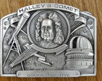 Haley's Comet Commemorative Belt Buckle from 1985.