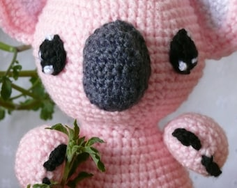Koalas Aren't Bears Crochet Pattern PDF
