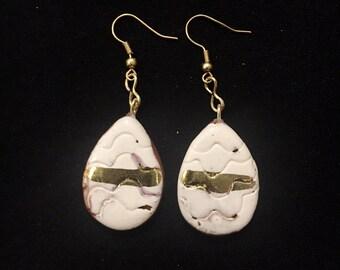 Funky Ceramic Earrings
