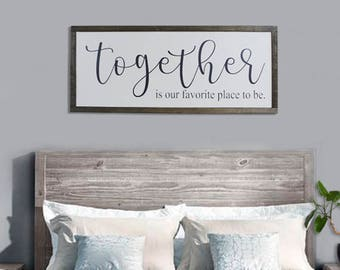 Bedroom Sign Wood Signs Live Your Dreams Love Your Life