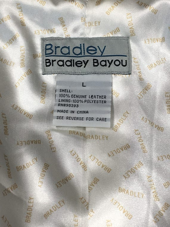 Jacket Down Women's White Bayou Clothing Beige Leather Large Women's Genuine Button Coat Size Decorative Bradley Vintage Leather 100 xEwRqyZdAA