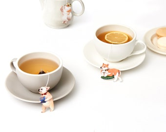 gongdreen dog tea bag gift box set ,Earl Grey tea
