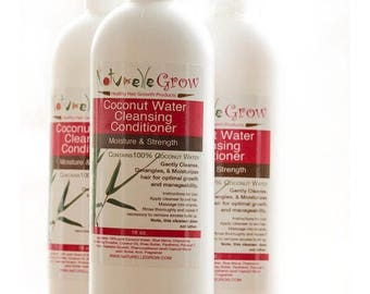 Hair Cleansing Conditioner Coconut Water sulfate free, curly hair, natural hair Shampoo