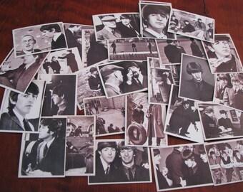 30 Vintage Beatles Hard Days Night Trading Cards