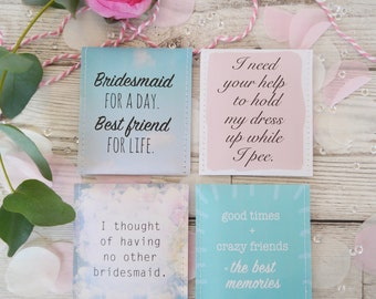 Will you be my bridesmaid? Tea Gift Set