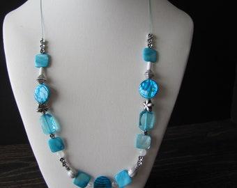 Necklace blue / Blue Necklace
